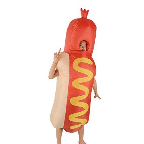 Wurst Kostüm - SM SunniMix Hot Dog Kostüm / Anzug