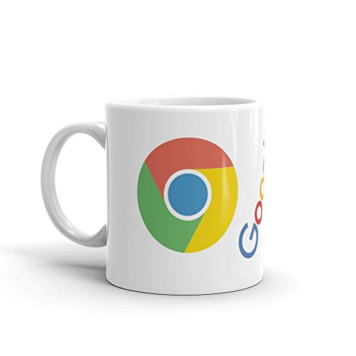Family Shoping Birthday Gifts for Brother, New Year Gifts,Google Chrome White Coffee Mug -320ml