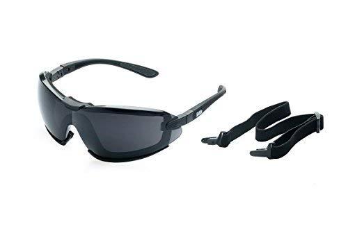 RAVS Gletscherbrille Bergbrille Schutzbrille Skibrille Bersteigerbrille - höchst möglicher UV Schutz Cat.4