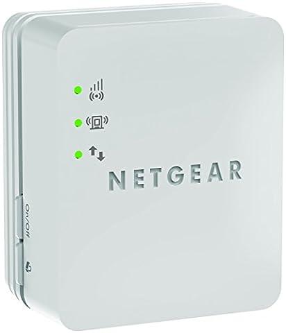 NETGEAR WN1000RP-100UKS Universal Wi-Fi Range Extender (Wi-Fi Booster) - White