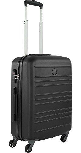 Delsey Carlit luggage Trolley cabin 4R Slim 55 black