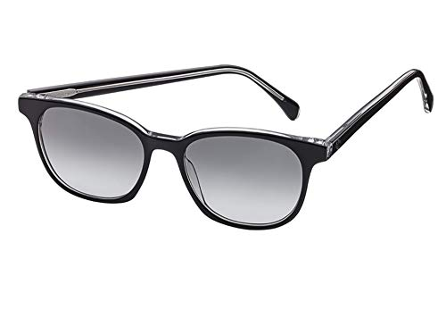 MB Mercedes-Benz Sonnenbrille, Casual schwarz/transparent, Acetat, glänzend