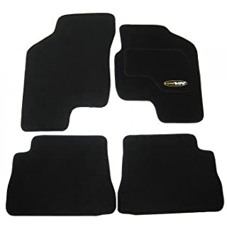 Hyundai Getz (2002-2009 Model) Perfectly Tailored Black Car Mats Set By AoE Performance