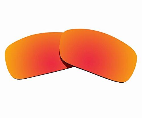 Sunnyblue2 Orange Polarisierte Ersatz Gläser für Oakley Fuel Cell Sonnenbrille (Sonnenbrille Oakley Orange)