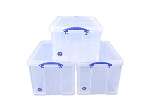 Really Useful Products bp5181Bonus Pack–Klar Speicher-lock-box-set