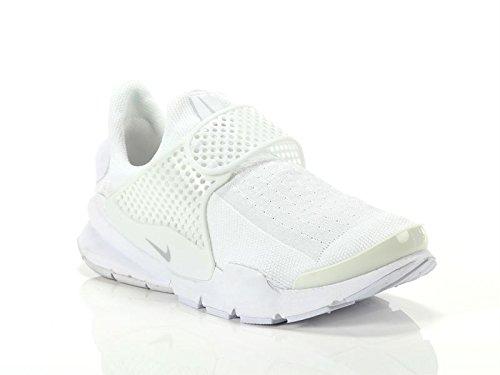 brand new 34748 20ecf Nike, Donna, Wmns Sock Dart White Pure Platinum, Tessuto tecnico, Sneakers,