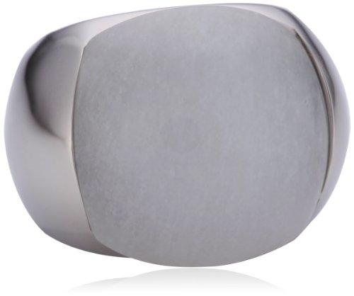 DKNY - Anello in acciaio inossidabile con nessuna funzione calendario donna, 10