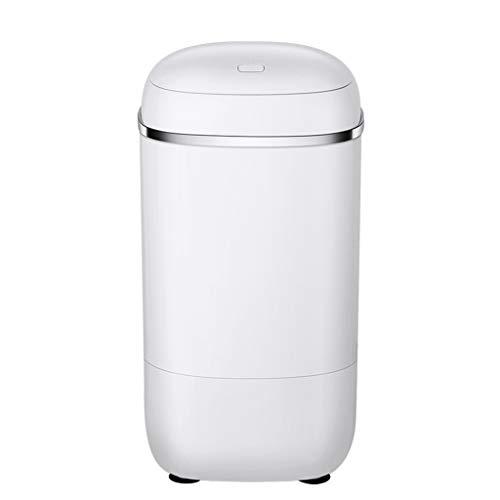 Toplader Waschmaschinen Mini Waschmaschine Waschen EIN Kind Haushalt Halbautomatische Tragbare Waschmaschine Kapazität 4,5 Kg (Color : Weiß, Size : 37 * 37 * 71.5cm)