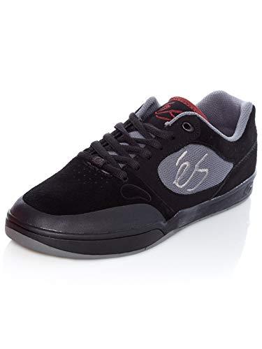 ES Herren Swift 1.5 Skate-Schuh, Schwarz - schwarz/grau - Größe: 42.5 - Skate Schuh Größe Größe