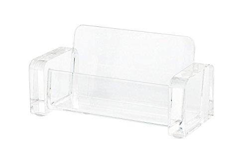 Wedo 604416 Acryl Visitenkartenhaler (Cristallic) glasklar