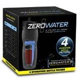 zero Water quatre Pack Filtre pour bouteille d'eau, cinq niveaux de bobine pour filtre à eau, ZR de 430