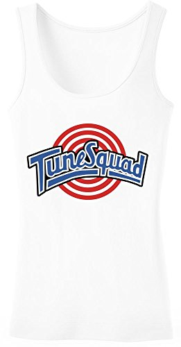 Tune Squad Logo Women's Tank Top Shirt Large