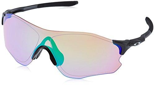 Oakley Herren Evzero Path 930805 0 sonnenbrille, Silber (Matte Steel/Prizmgolf), 38