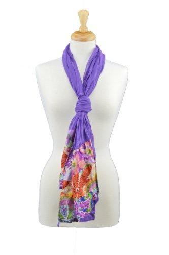 Red Carpet Studios Hobo Tasche mit passendem Schal, tropischen Patchwork -
