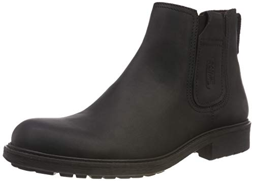 camel active Herren 15 Chelsea Boots, Schwarz (Black 2), 44 EU