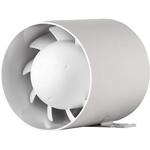 Ventola di scarico, silenziosa, Ø 100 mm, cuscinetti a sfera 10 cm, 15 W - 105 m³