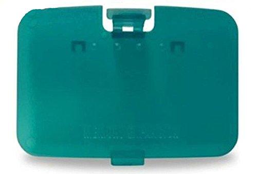 Ambertown® Ersatz Speichererweiterung Tür Shell Schutzhülle für Nintendo 64N64Konsole Reparatur Teile (Transparent Blaugrün) (Teil Teal)