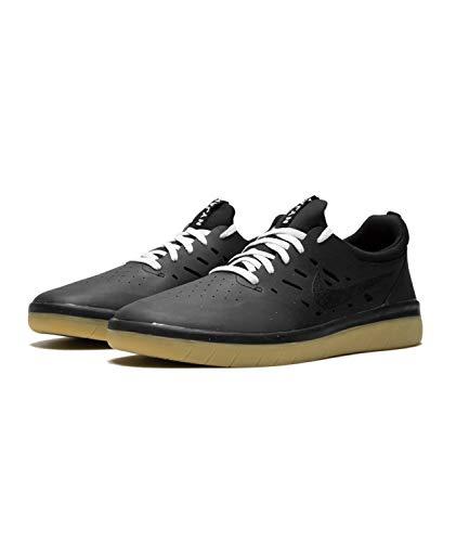 Nike Herren Sb Nyjah Free Skateboardschuhe, Schwarz Black/Gum Light Brown 002, 41 EU