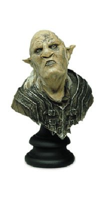ORC OVERSEER Herr der Ringe Büste aus Polystone ca. 16,5cm Sideshow Weta (Sideshow-herr Der Ringe)