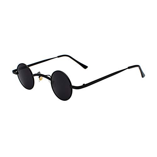 d2ee1e65de0c5 Haodasi Metall Kleine Runde Sonnenbrille Vintage Steampunk Brillen Mode  UV400 Gläser
