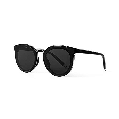 RMXMY Mode Persönlichkeit Anti-UV-rundes Gesicht großes Gesicht Brille schlanke Sonnenbrille einkaufen Must-Have-Trend Männer und Frauen Brille Sonnenbrille