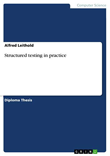 Structured testing in practice (English Edition)