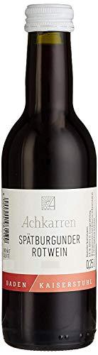 Achkarren Spätburgunder Rotwein Qualitätswein Halbtrocken (12 x 0.25 l)