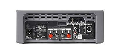 Denon N-10GY CEOL Système de réseau 2 x 65 W HEOS, Compatible Alexa Spotify, Amazon Music, Deezer, Napster, Tidal, Internetradio, Lecteur CD, Bluetooth, entrée TV Gris de Denon