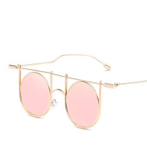 Aoligei il versione cool personalità di stile di occhiali da sole tendenza a piedi show stile europeo e americano nuovi occhiali da sole r etro