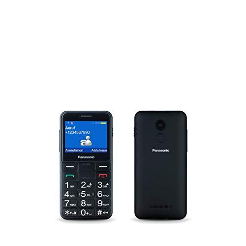 """Oferta de Panasonic KX-TU150EXB - Teléfono Móvil Dual SIM (Pantalla de 2.4"""", Memoria hasta 32 GB, Botón de Emergencia) Negro"""