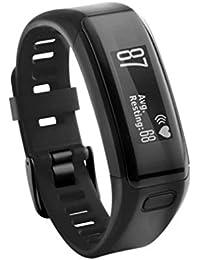 JiaMeng para Correa de Silicona, reemplazo Pulsera de Silicona Suave Pulsera Wristband para Garmin Vivosmart