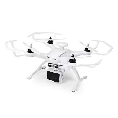 RC Drone Quadcopter CG035 Double GPS RTF WHITE with WiFi FPV 1080P Full HD Optical Flow Positioning System Follow Me Mode