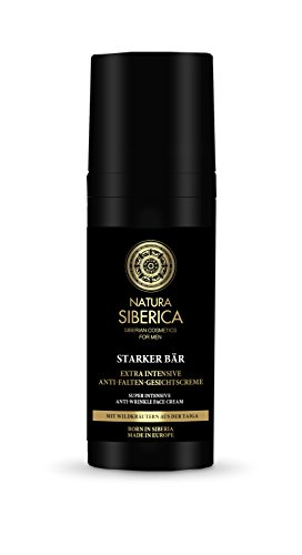 Natura Siberica Starker Bär Extra intensive Anti-Falten Gesichtscreme, 1er Pack (1 x 50 ml)