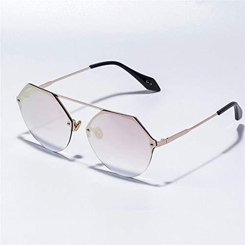 MJ Glasses Sonnenbrillen Rahmenlose Wasserkastanie im europäischen und amerikanischen Stil, C