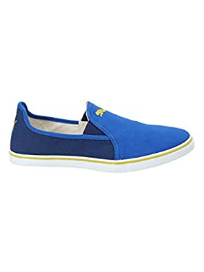 Puma Men's Gray Slip On NU IDP Lapis Blue Depths-Citronelle Sneakers-8 UK/India (42 EU) (36777302)