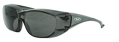 Global Vision Eyewear Oversite Serie Sicherheit Gläser, Smoke