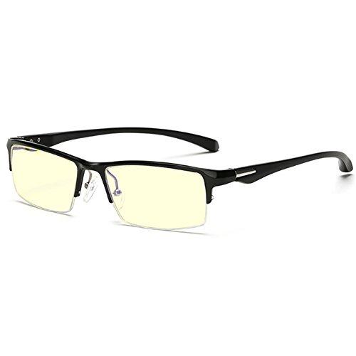 GRAFIT Herren Brillengestell Weiß Schwarz L
