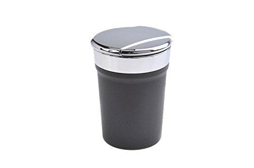 The Khan Outdoor & Lifestyle Company Quantum Abacus Runder Windaschenbecher aus Zinklegierung mit Deckel und Beleuchtung, für Becherhalter im Auto geeignet, Mod. 1870 (DE) (Im Auto Becherhalter)