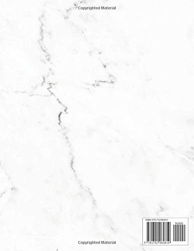 Zoom IMG-1 2019 2020 planner pretty marble