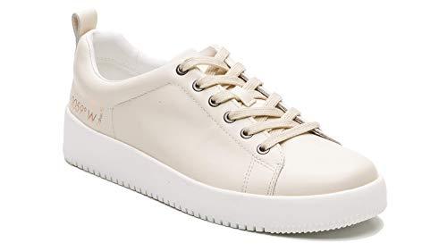 Calvin Klein Jeans Herren Gaetan Soft Nappaleder Schnürschuhe S1622, Weiß - weiß - Größe: 44 EU (Calvin Klein Stiefel Männer)