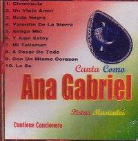 Pistas Musicales (Canta Como Ana Gabriel)