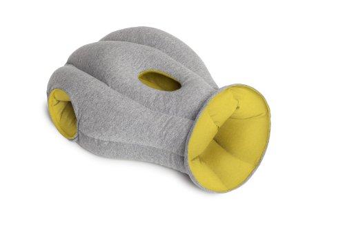 ORIGINAL OstrichPillow® Powernapping Straußen-Kissen; in gelb