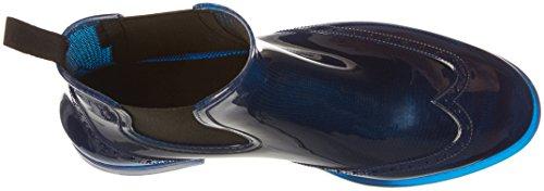 BOCKSTIEGEL® CHELSEA Donna - Mezzo Stivali di gomma alla moda | Chelsea Boots | Impermeabile | Moda | Design esclusivo Blue