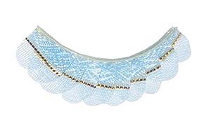 Eulenspiegel 001011 - pestañas artificiales - Pestañas, azul pastel con banda dorada - 2 x 1 piezas