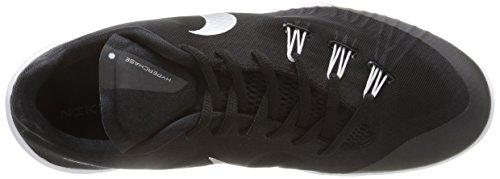 Nike Hyperchase Tb, Scarpe sportive, Uomo Black/Metallic Silver-White