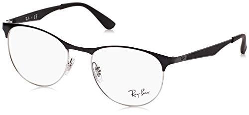 Rayban Unisex-Erwachsene Brillengestell RX6377, (Gold/Shiny Bordo), 50