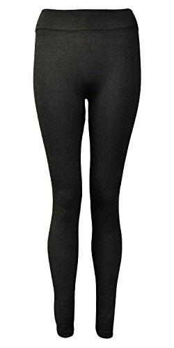 "Atemberaubende Thick Winter Thermo-Leggings. Comfort Soft Stretch Stoff. 70% Baumwolle 20% Polyester 10 Spandex. Innenbeinlänge ca. 28 ""."