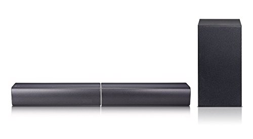 LG SJ7 Flex Soundbar - Black