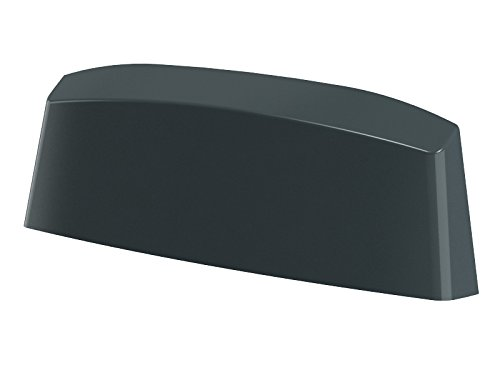 10er Pack Wasserschlitzkappen Fensterentwässerung 45mm in verschiedenen Farben by MS Beschläge® (Anthrazit - RAL 7016)