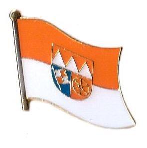Flaggen Pin Unterfranken Fahne Flagge Anstecknadel